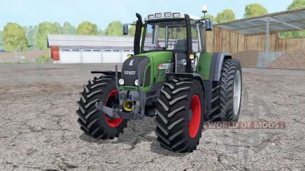 Fendt 820 Vario TMS dual rear wheels for Farming Simulator 2015