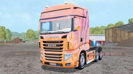 Scania R700 Evo Cedric Transports Edition for Farming Simulator 2015