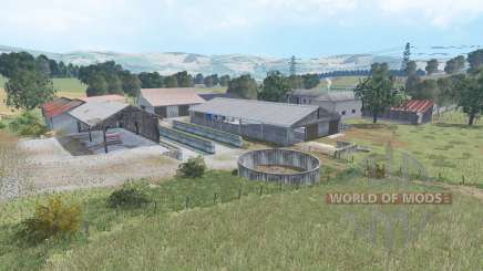 The Old Stream Farm v1.2 for Farming Simulator 2015
