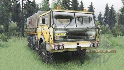 Tatra T813 TP 8x8 1967 winter v1.6 for Spin Tires