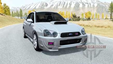 Subaru Impreza WRX STi (GDB) 2003 for BeamNG Drive