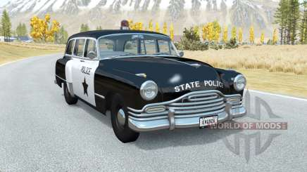Burnside Special wagon Police for BeamNG Drive