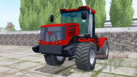 Kirovets K-744Р4 double wheels for Farming Simulator 2017