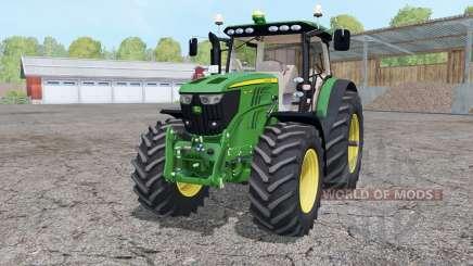 John Deere 6210R animated element for Farming Simulator 2015