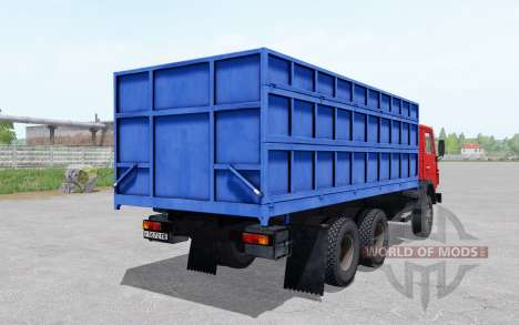 KamAZ 55102 6x4 for Farming Simulator 2017