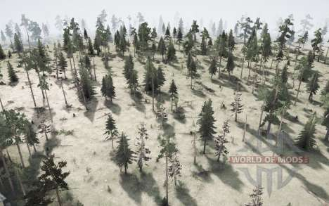 The Forest for Spintires MudRunner