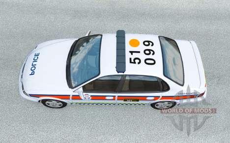 Ibishu Pessima British Police v0.4 for BeamNG Drive