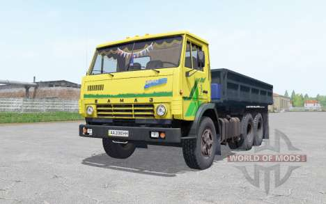 KamAZ 5320 with a trailer NEPA 8560 for Farming Simulator 2017