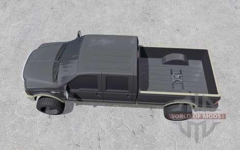 Ford F-350 Crew Cab King Ranch 2006 for Farming Simulator 2017