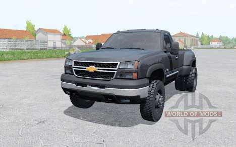 Chevrolet Silverado 3500 Regular Cab Duramax for Farming Simulator 2017