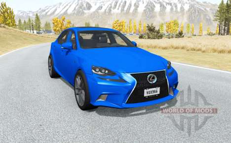 Lexus IS 350 F Sport (XE30) 2014 for BeamNG Drive
