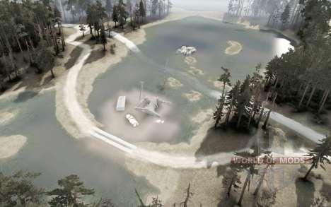 Abandoned mines v2.0 for Spintires MudRunner