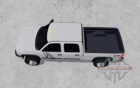 Chevrolet Silverado 2500 HD Crew Cab 2002 for Farming Simulator 2017