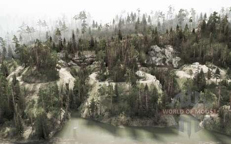 Sasquatch Mountain for Spintires MudRunner