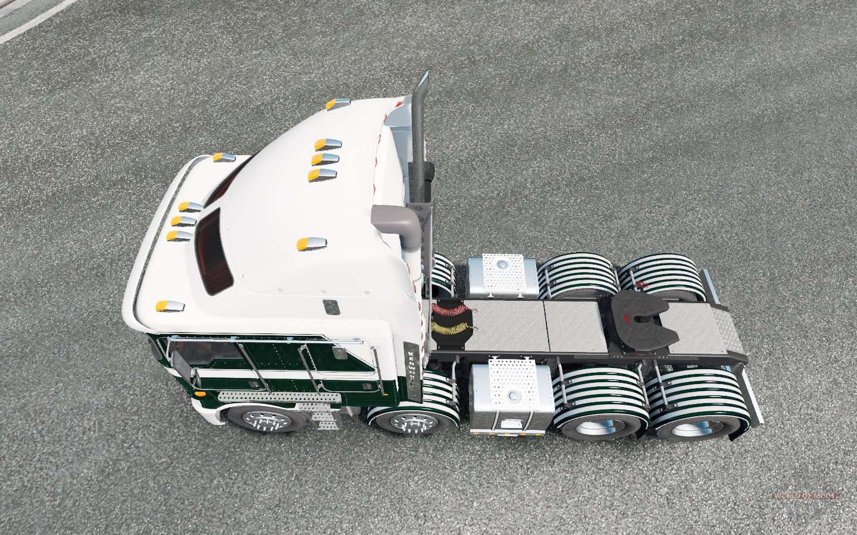 Kenworth K200 8x4 For Euro Truck Simulator 2