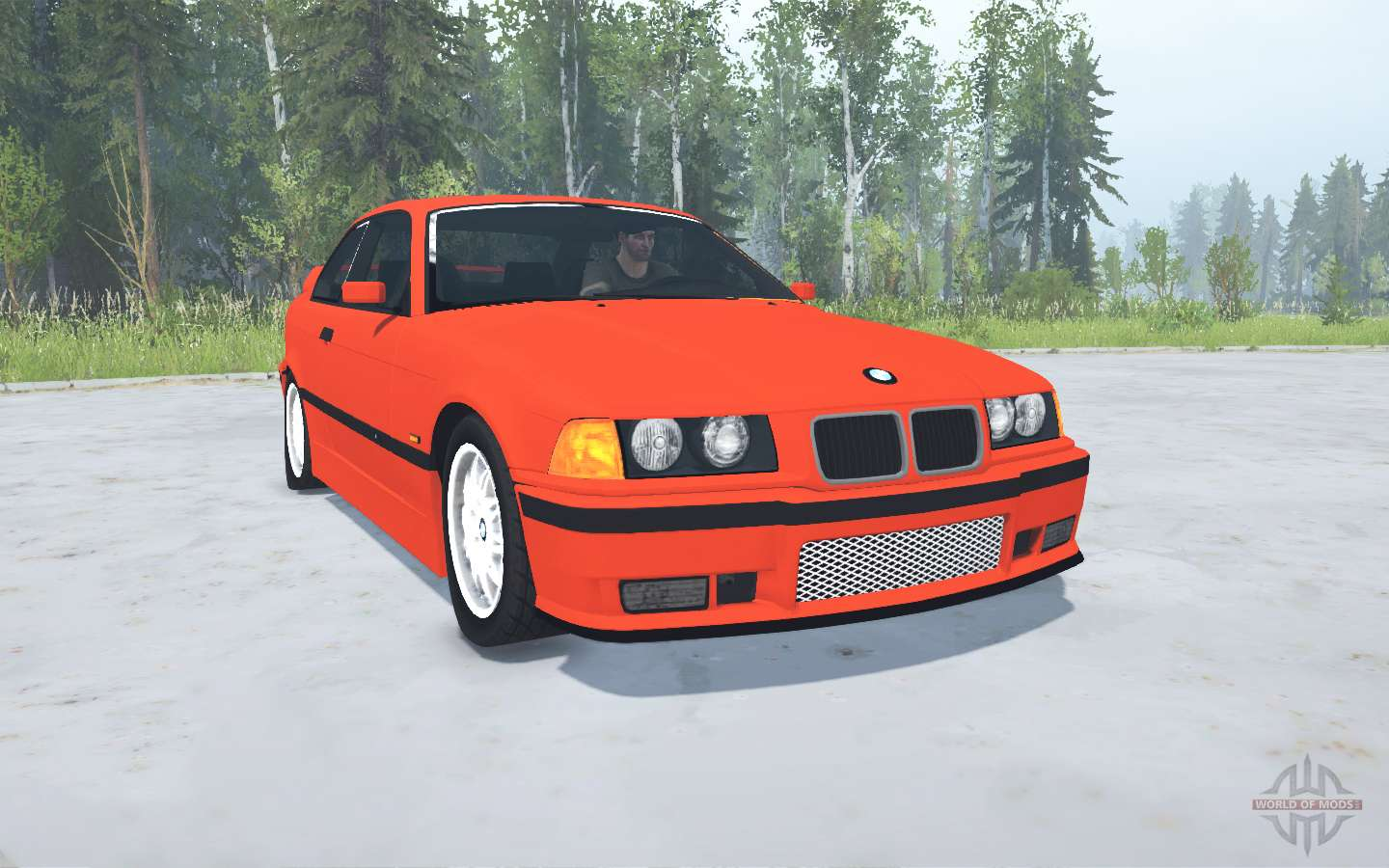 Bmw M3 Coupe E36 1994 For Mudrunner