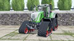 Fendt 933 Vario crawler modules for Farming Simulator 2017