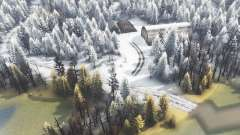 Winter island for Spin Tires