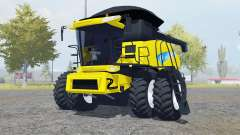 New Holland CR9060 dual front wheels for Farming Simulator 2013