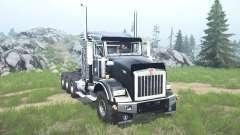 Kenworth T800 four-axle 2005 v1.1 for MudRunner