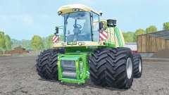 Krone BiG X 1100 double wheels for Farming Simulator 2015