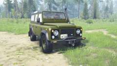 Land Rover Defendeᶉ 110 Station Wagon for MudRunner