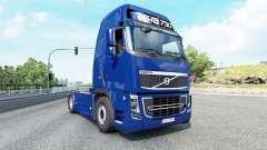 Volvo FH16 750 Globetrotter XL cab 2012 v1.3 for Euro Truck Simulator 2