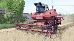 SK-6 Kolos animation working units for Farming Simulator 2017