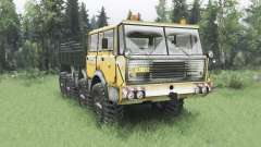 Tatra T813 TP 8x8 Kings Off-Road 2 winter v1.1 for Spin Tires