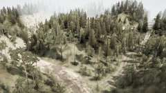 Russian taiga for MudRunner