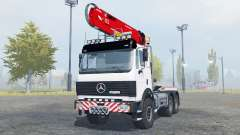 Mercedes-Benz 2631 S timber loader for Farming Simulator 2013