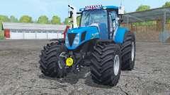 New Hollanɗ T7.170 for Farming Simulator 2015