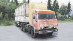 KamAZ-5410 6x4 for Spin Tires