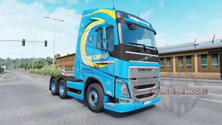 Color Roml Cargo on truck Volvo for Euro Truck Simulator 2