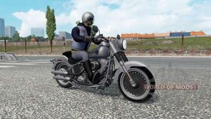 Motorcycle traffic v2.3 for Euro Truck Simulator 2