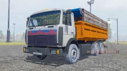 MAZ 5516 6x4 for Farming Simulator 2013