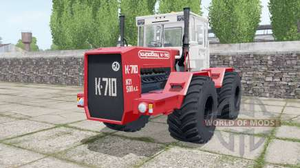 Kirovets K-710 dual wheels for Farming Simulator 2017