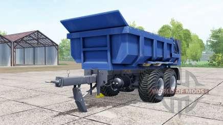 Hilken HI 2250 SMK blue for Farming Simulator 2017