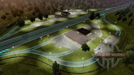 Roadways Luminous for Euro Truck Simulator 2