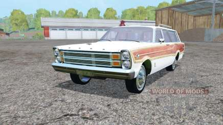 Ford Country Squirᶒ 1966 for Farming Simulator 2015