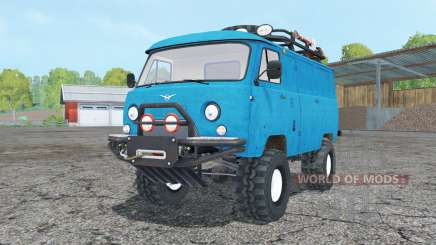 UAZ 452 with a raised suspension for Farming Simulator 2015