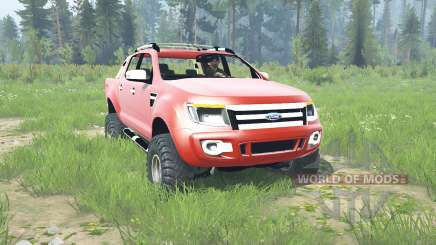 Ford Ranger Double Cab 2012 for MudRunner