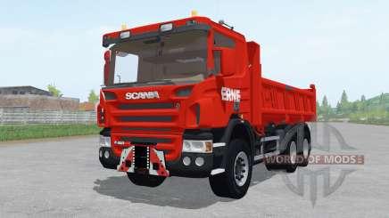 Scania P420 tipper for Farming Simulator 2017