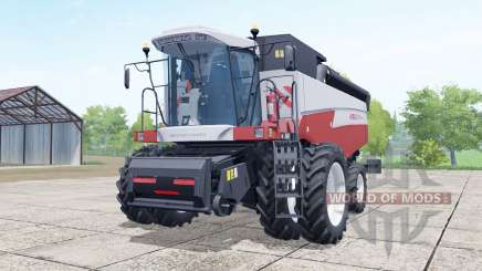 Acros 595 Plus a choice of configurations for Farming Simulator 2017