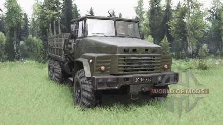 KrAZ 260 v3.0 for Spin Tires