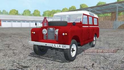 Land Rover Series II 109 Station Wagon 1965 for Farming Simulator 2015