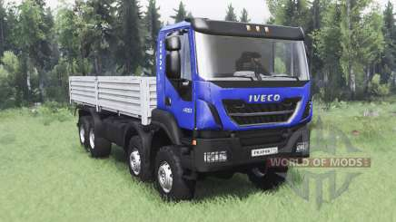 Iveco Trakker 420 8x8 2013 for Spin Tires