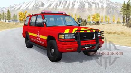 Gavril Roamer French Pompiers v1.0.2 for BeamNG Drive