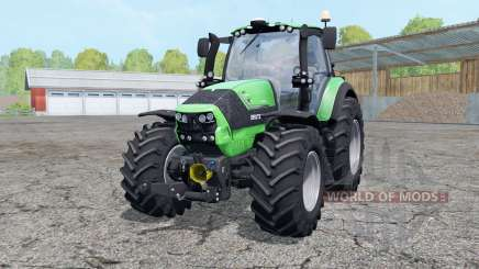 Deutz-Fahr Agrotron 6190 TTV wheels weightᶊ for Farming Simulator 2015