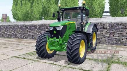 John Deere 6145R animated element for Farming Simulator 2017